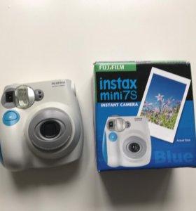 Отличный полароид Fujifilm Instax Mini S7 Blue