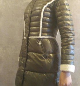 Куртка, пуховик, полупальто пальто женское.
