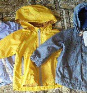 Куртки Zara 80-86