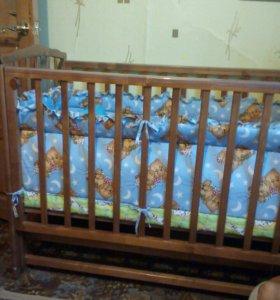 Детская кроватка!
