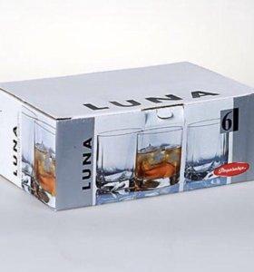 Набор стаканов для виски Luna