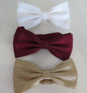 Новые галстуки-бабочки