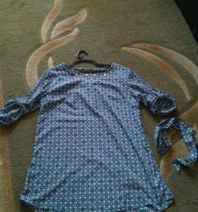 Платье-туника,  обмен- или продажа