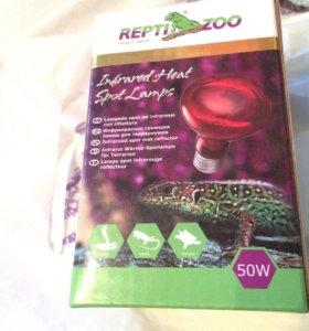 Инфракрасная лампа для террариума