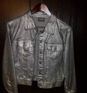 джинсовый пиджак б/у
