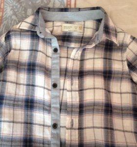 Рубашка Zara 110 р.