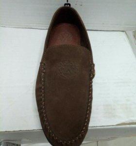 Туфли новые замша 39-44