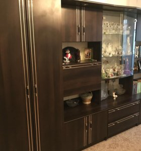 Модульная стенка с уголком + шкаф