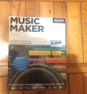Диск Music Maker 2013 от MagiX