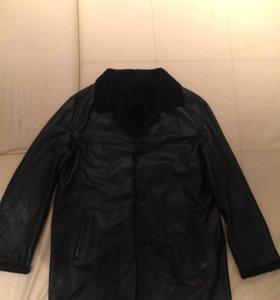 Пиджак кожаный двустороний