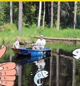 Рыбалка на пруду, отдых в беседке, мангалы!