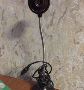 Веб камера с гибким штативом