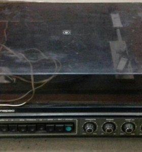 Проигрыватель винила электрофон ВЕГА 104 стерео