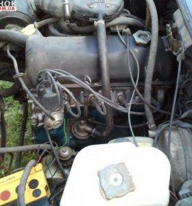 Двигатель с КПП ОДА