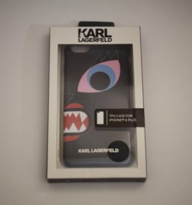 Чехол iPhone 6 Plus Karl Lagerfeld (Оригинал)