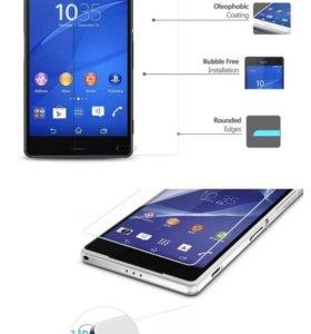 Sony Xperia z5 premium защитное стекло
