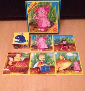 Мозаика+кубики для малышей