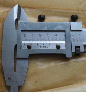 Штангенциркуль двусторонний новый 250 мм.