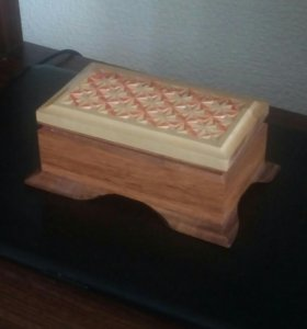 Шкатулки ручной работы из натурального дерева