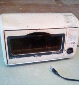 Печка тостер fuma (мини микроволновая печь)