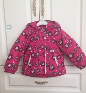 Зимняя куртка для девочки reima р-р86