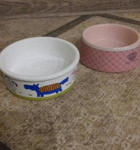 2 Миски керамика