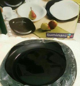 Тарелки новые Luminarc, 3 шт.
