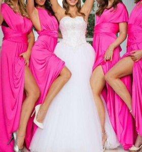 Платье трансформер, платье подружек невесты 👰🏼