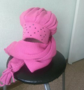 Комплект(шапка,шарф)