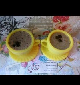 Мыло-чашка -кофе