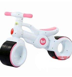 Велосамокат беговел для самых маленьких