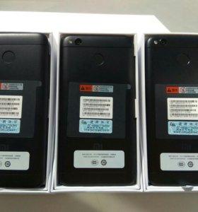 Xiaomi redmi 4x pro 3/32gb черные
