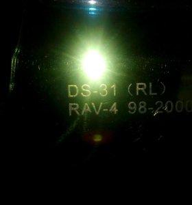 Защита на фары для RAV 4