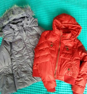 Куртка и пуховик на рост 134-140