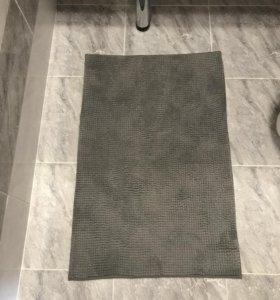 Коврик для ванной Икеа Тофтбу серый
