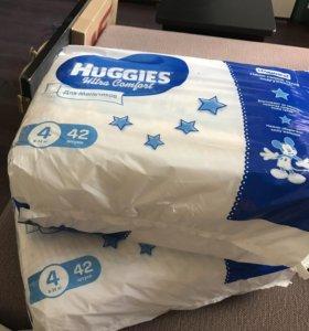 Подгузники Huggies 4 (72 штуки)