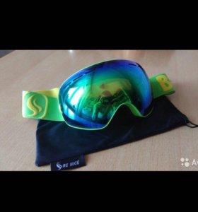 Новые горнолыжные очки (маска)