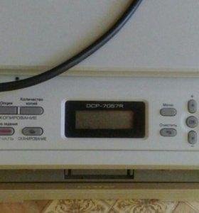 Принтер сканер dcp-7057r
