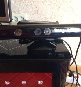Xbox 360+кинект и 2 геймпада