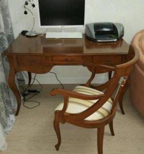 Стол письменный+ стул