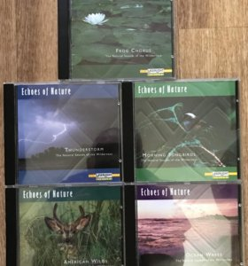 5 box set Echoes of Nature