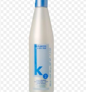 Крем для кератинового выпрямления волос