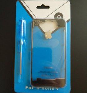 Прозрачная задняя крышка на iPone 4