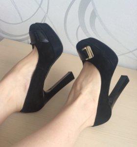 Туфли замшевые 👠