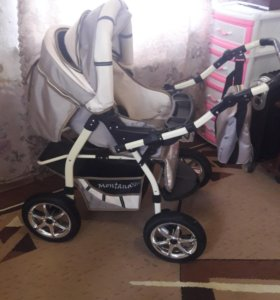 Детская коляска и автолюлька в подарок