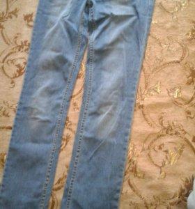 джинсы размер w27 L34/ 100% cotton