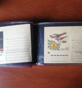 не маркированные конверты СССР