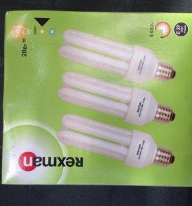Комплект Энергосберегающие лампочки