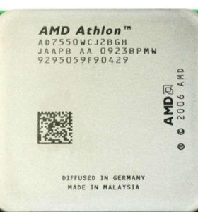 Процессор AMD Athlon X2 Dual-Core 7550