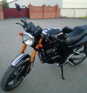 Мотоцикл Baltmotors Street 200DD почти новый